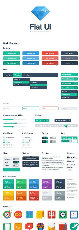 flat ui html css kit