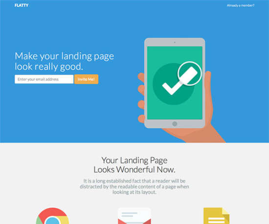 flatty bootstrap template