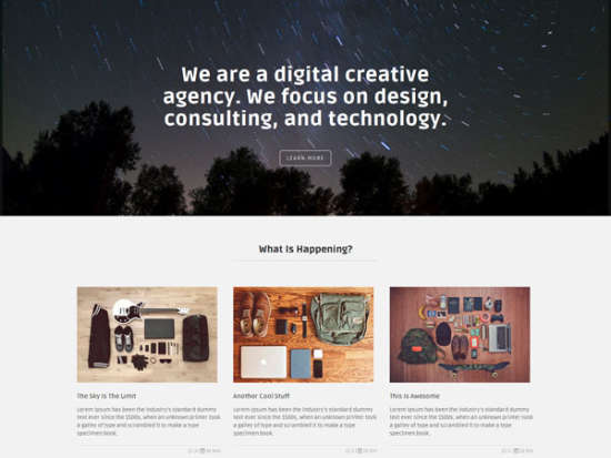 marco bootstrap template