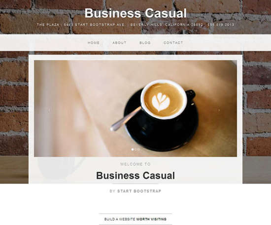business bootstrap that is casual