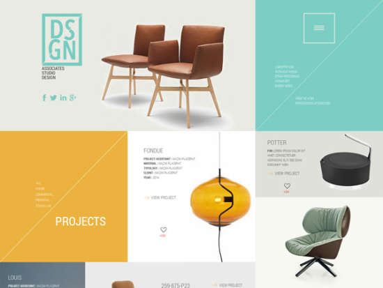 dsgn bootstrap template