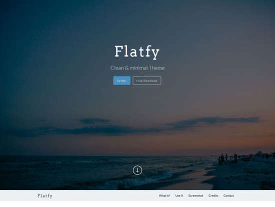 flatfy bootstrap template