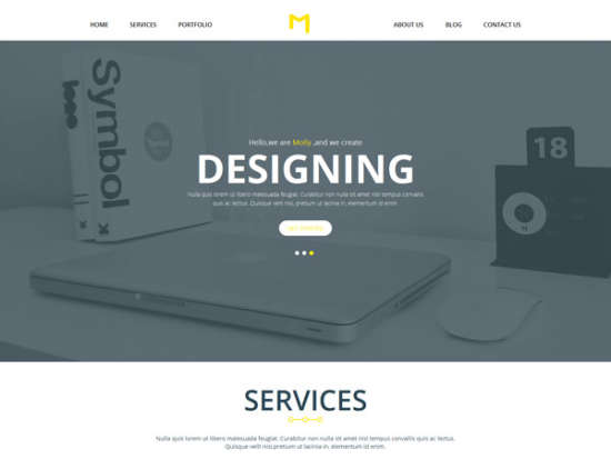 molly bootstrap template