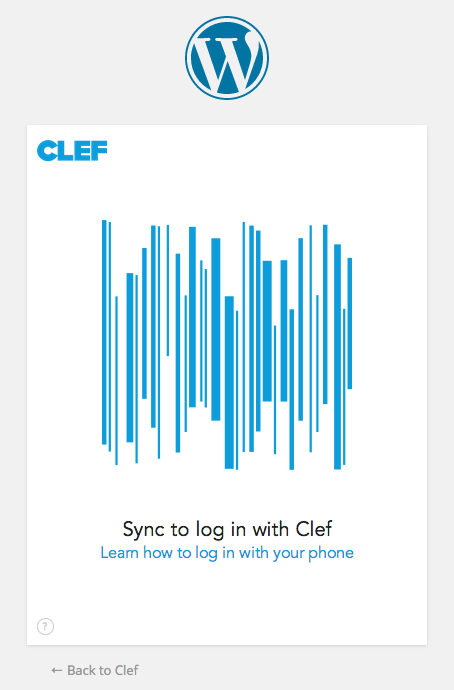 clef authentication that is two-factor plugin