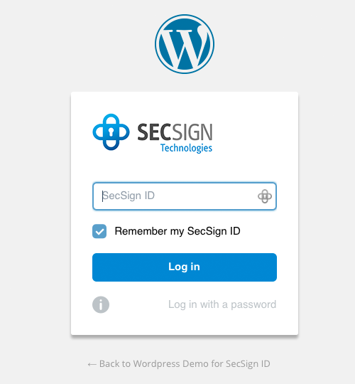 secsign wordpress plugin