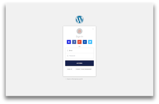 auth0 wordpress plugin