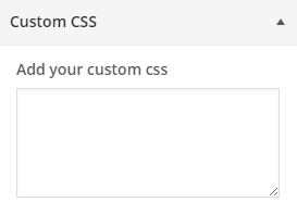 customizer custom css wordpress plugin