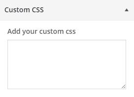 customizer custom css wordpress plugin