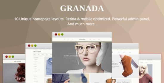granada responsive magento theme
