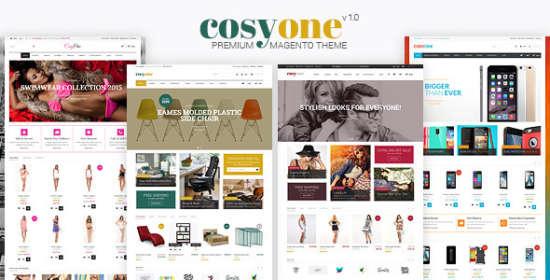 cosyone responsive magento themes