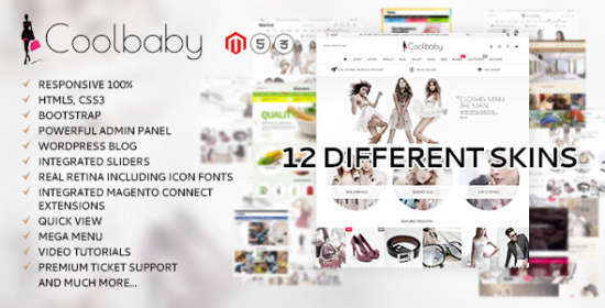 coolbaby original magento theme