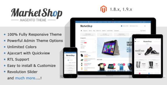 marketshop multipurpose responsive magentotheme