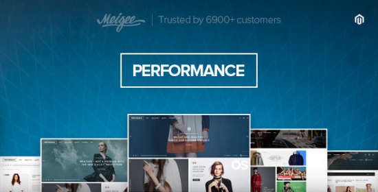 performance responsive magento theme