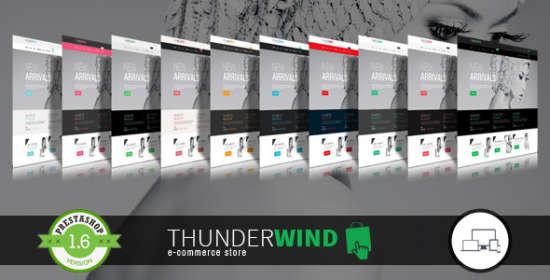 thunderwind responsive prestashop theme blog