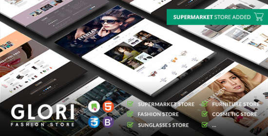 glory multipurpose responsive prestashop theme