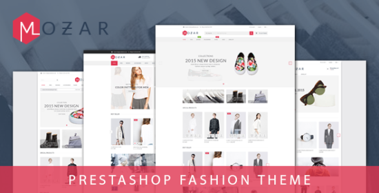 mozar receptive prestashop clothing theme