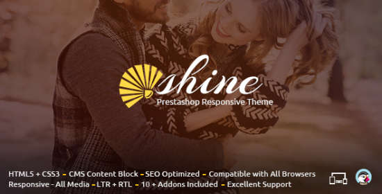 shine prestashop responsive theme
