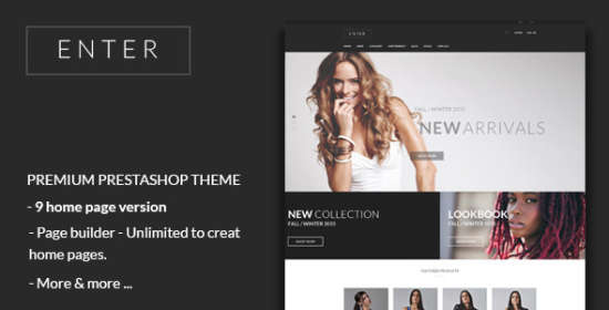 jms enter responsive fashion prestashop theme