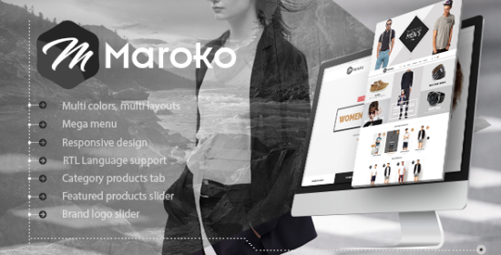maroko responsive prestashop fashion theme