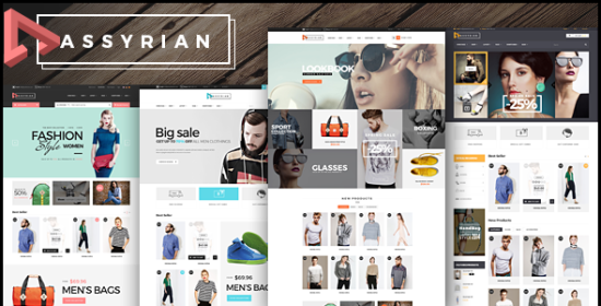 assyrian receptive fashion prestashop theme
