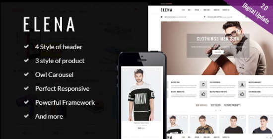 elena multipurpose responsive prestashop theme