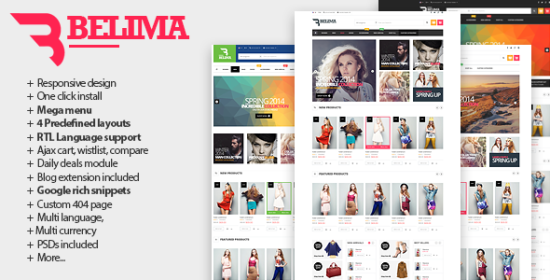 belima receptive prestashop fashion theme