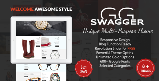 swagger multipurpose prestashop theme