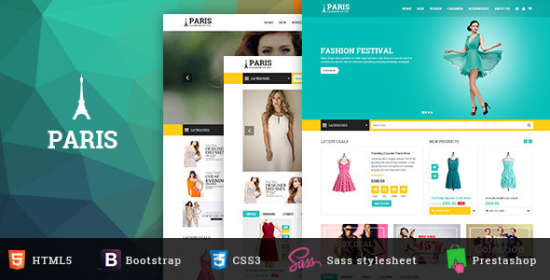 sns paris responsive prestashop theme