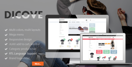 dicove fashion responsive prestashop theme