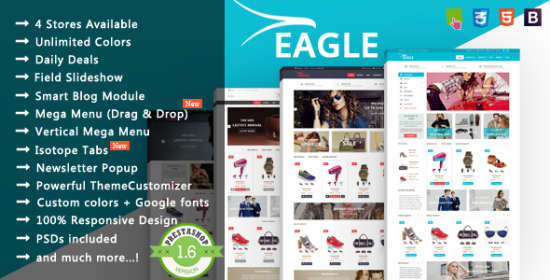 eagle responsive prestashop theme
