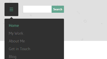 creating a responsive menu