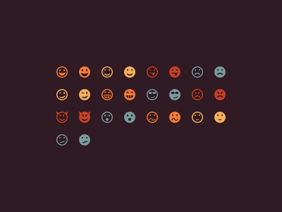 psd emoticons