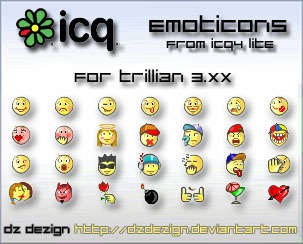 emoticons from icq4