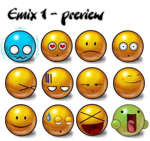 emix 1 emoticons
