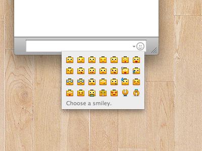 micro servbot emoticons