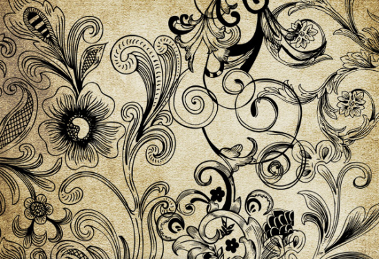 floral vector brush amazing free adobe illustrator brush