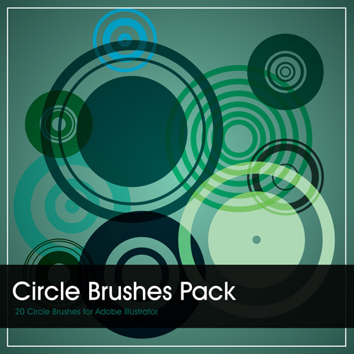 circles brush pack free adobe illustrator brush package