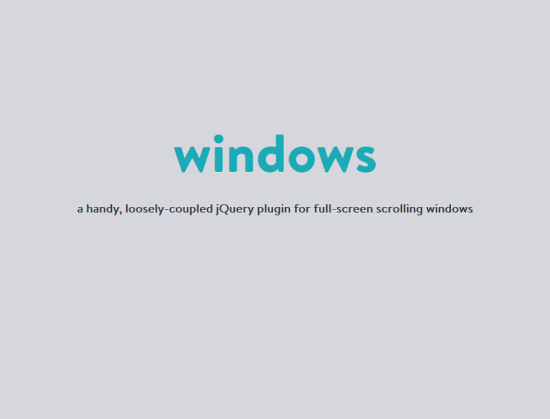 windows handy free jquery parallax scrolling plugin