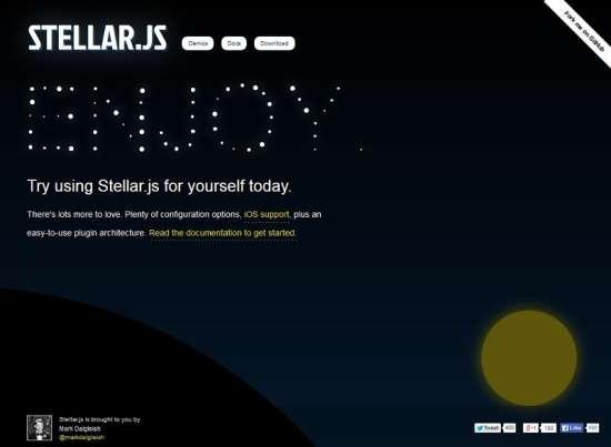 stellar.js horizontal parallax scrolling great free jquery parallax scrolling plugin