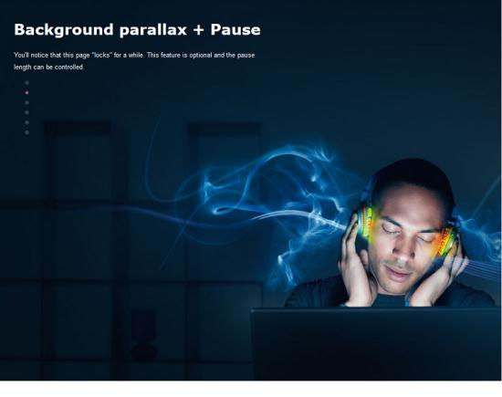 razorfish parallax scrolling great free jquery parallax scrolling plugin