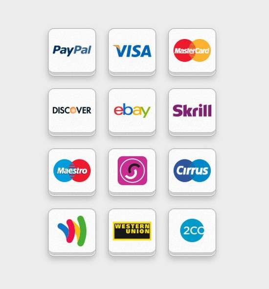 free online payment icon put