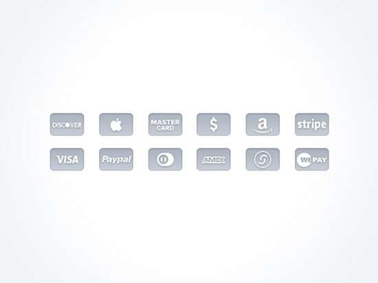credit card icons free