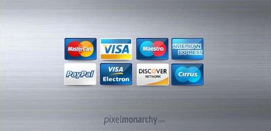credit debit cards icons free psd file