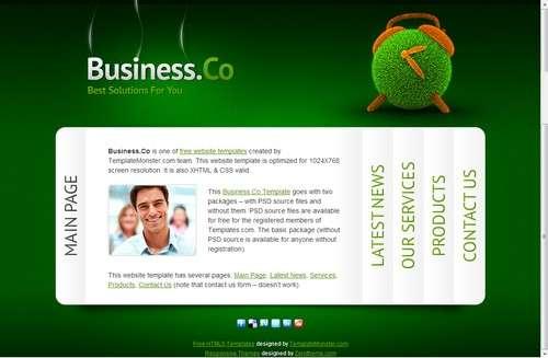 zbusinessco free responsive html5 theme