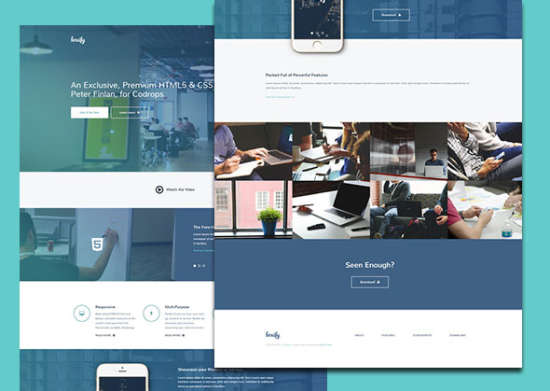 boxify html5css3 template