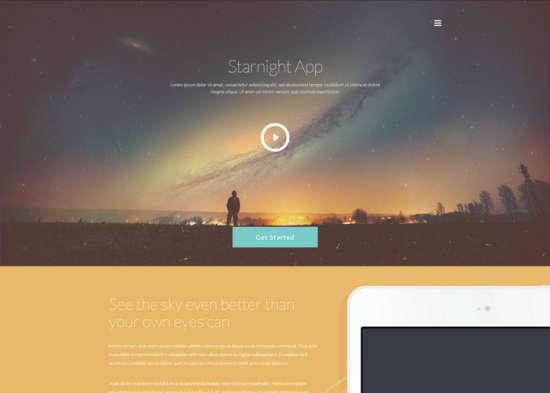 starnight app website