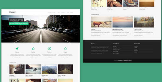free wordpress theme elegant