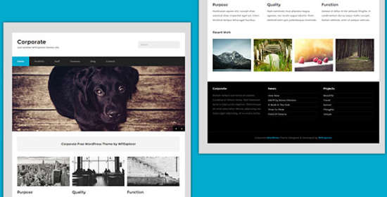 corporate the best wordpress theme