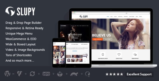 slupy responsive multipurpose wordpress theme