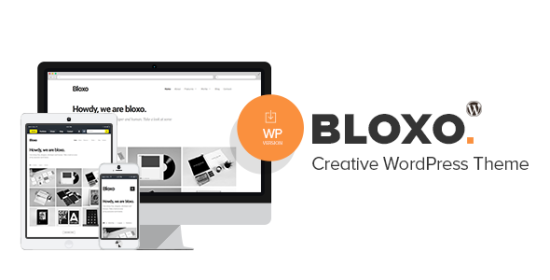 bloxo minimal freelancer agency wordpress theme